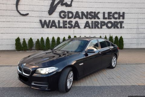 BMW 5 Automat diesel + GPS