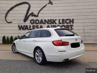 Autoverleih BMW 518d STW | Autovermietung Danzig |     - zdjęcie nr 3